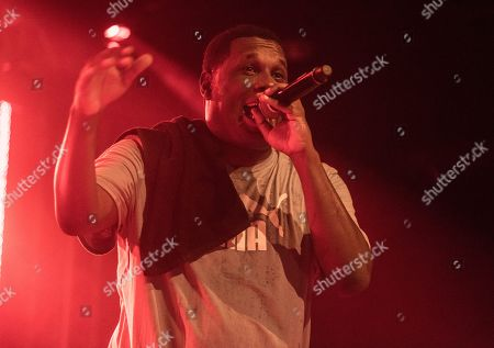 Editorial picture of Jay Electronica in concert at Evolutionary Arts Hackney, London, UK - 20 Sep 2019
