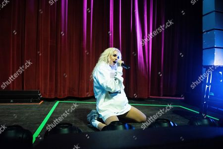 Editorial image of Charli XCX in Concert - , Atlanta, USA - 20 Sep 2019
