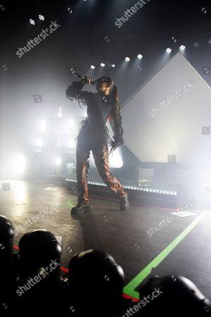 Charlie XCX performs on stage at the Buckhead Theatre, in Atlanta