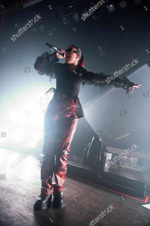 Stock Picture of Charlie XCX performs on stage at the Buckhead Theatre, in Atlanta