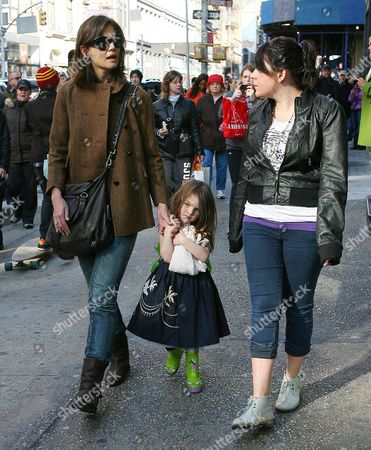 Editorial photo of Katie Holmes takes Suri to Complexions Contemporary Ballet at the Joyce Theater in New York, America - 22 Nov 2009
