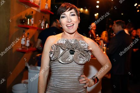 Naomi Grossman toasts at the Performer's Nominee Reception with Ketel One Family Made Vodka, the Official Spirits Partner of the 71st Emmy Awards Season, on at the Wallis Annenberg Center for the Performing Arts in Beverly Hills, Calif