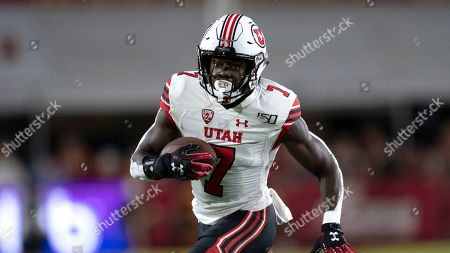 Utah running back Devonta'e Henry-Cole during an NCAA football game Southern California on in Los Angeles