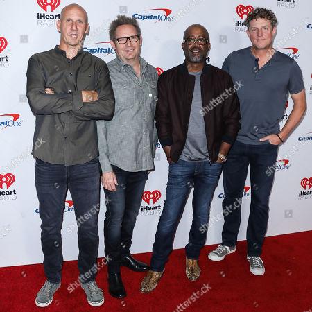 Hootie & the Blowfish - Jim Sonefeld, Dean Felber, Darius Rucker, and Mark Bryan