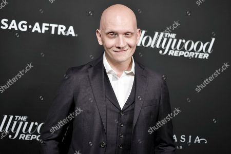 Anthony Carrigan attends the 2019 Primetime Emmy Awards - THR Emmy Nominees party at Avra, in Beverly Hills, Calif