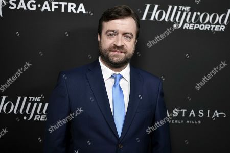 Derek Waters attends the 2019 Primetime Emmy Awards - THR Emmy Nominees party at Avra, in Beverly Hills, Calif