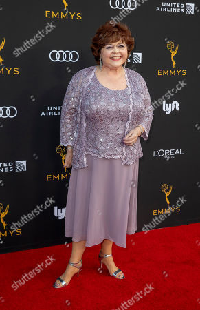 Stock Image of Patrika Darbo arrives for the Television Academy Honors Emmy Nominated Performers at the Wallis Annenberg Center for the Performing Arts in Beverly Hills, California, USA, 20 September 2019. The reception honors those that have been nominated for an Emmy Award.