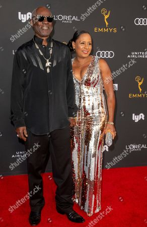 Glynn Turman (L) and wife Jo-Ann Allen arrive for the Television Academy Honors Emmy Nominated Performers at the Wallis Annenberg Center for the Performing Arts in Beverly Hills, California, USA, 20 September 2019. The reception honors those that have been nominated for an Emmy Award.