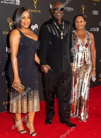 Niecy Nash (L), Glynn Turman (C), and Jo-An Allen (R) arrive for the Television Academy Honors Emmy Nominated Performers at the Wallis Annenberg Center for the Performing Arts in Beverly Hills, California, USA, 20 September 2019. The reception honors those that have been nominated for an Emmy Award.