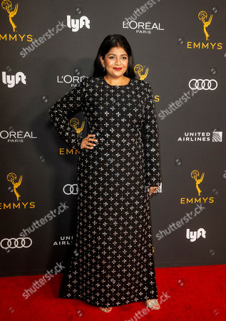 Stock Photo of Punam Patel arrives for the Television Academy Honors Emmy Nominated Performers at the Wallis Annenberg Center for the Performing Arts in Beverly Hills, California, USA, 20 September 2019. The reception honors those that have been nominated for an Emmy Award.