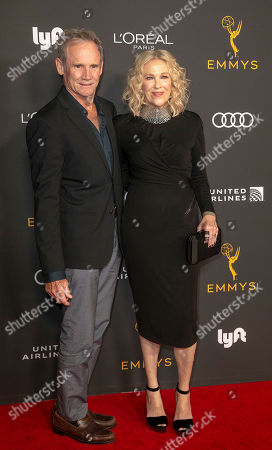 Catherine O'Hara (R) and US actor Bo Welch (L) arrive for the Television Academy Honors Emmy Nominated Performers at the Wallis Annenberg Center for the Performing Arts in Beverly Hills, California, USA, 20 September 2019. The reception honors those that have been nominated for an Emmy Award.