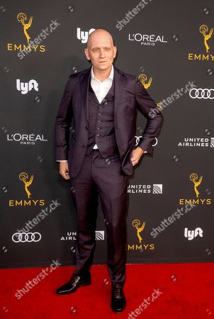 Anthony Carrigan arrives for the Television Academy Honors Emmy Nominated Performers at the Wallis Annenberg Center for the Performing Arts in Beverly Hills, California, USA, 20 September 2019. The reception honors those that have been nominated for an Emmy Award.