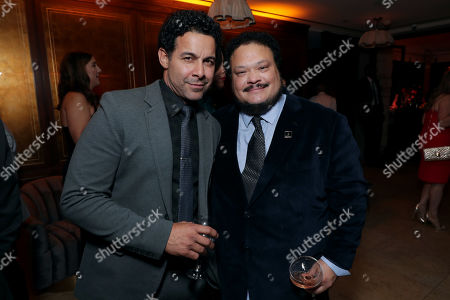 Jon Huertas and Adrian Martinez attend the 2019 Pre-Emmy Party hosted by Entertainment Weekly and L'Oreal Paris at Sunset Tower Hotel in Los Angeles on Friday, September 20, 2019.