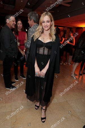 Stock Image of Ambyr Childers attends the 2019 Pre-Emmy Party hosted by Entertainment Weekly and L'Oreal Paris at Sunset Tower Hotel in Los Angeles on Friday, September 20, 2019.