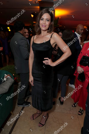 Mandy Moore attends the 2019 Pre-Emmy Party hosted by Entertainment Weekly and L'Oreal Paris at Sunset Tower Hotel in Los Angeles on Friday, September 20, 2019.