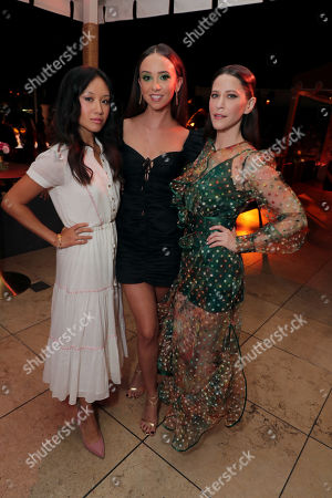 Ellen Wong, Britt Baron and Jackie Tohn attend the 2019 Pre-Emmy Party hosted by Entertainment Weekly and L'Oreal Paris at Sunset Tower Hotel in Los Angeles on Friday, September 20, 2019.