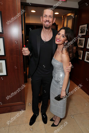 Steve Howey and Sarah Shahi attend the 2019 Pre-Emmy Party hosted by Entertainment Weekly and L'Oreal Paris at Sunset Tower Hotel in Los Angeles on Friday, September 20, 2019.