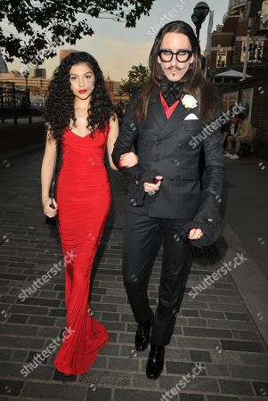 Stock Picture of Anastasia Higgins and Joshua Kane