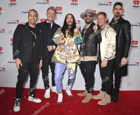 Backstreet Boys and Steve Aoki