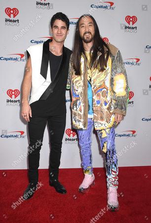 Darren Criss and Steve Aoki
