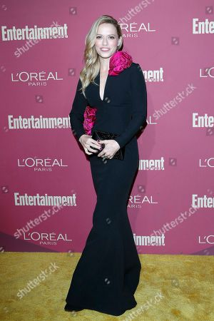 Bethany Joy Lenz arriving for the 2019 Pre-Emmy Party hosted by Entertainment Weekly and L'Oreal Paris at the Sunset Tower Hotel in West Hollywood, California, USA, late 20 September 2019.