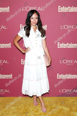 Stock Image of Ellen Wong arrives for the 2019 Pre-Emmy Party hosted by Entertainment Weekly and L'Oreal Paris at the Sunset Tower Hotel in West Hollywood, California, USA, late 20 September 2019.