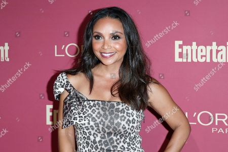 Danielle Nicolet arrives for the 2019 Pre-Emmy Party hosted by Entertainment Weekly and L'Oreal Paris at the Sunset Tower Hotel in West Hollywood, California, USA, late 20 September 2019.