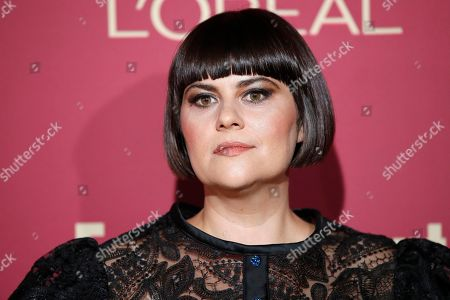 Stock Picture of Rebekka Johnson arrives for the 2019 Pre-Emmy Party hosted by Entertainment Weekly and L'Oreal Paris at the Sunset Tower Hotel in West Hollywood, California, USA, late 20 September 2019.