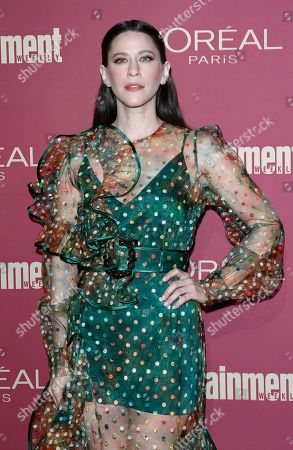 Jackie Tohn arrives for the 2019 Pre-Emmy Party hosted by Entertainment Weekly and L'Oreal Paris at the Sunset Tower Hotel in West Hollywood, California, USA, late 20 September 2019.