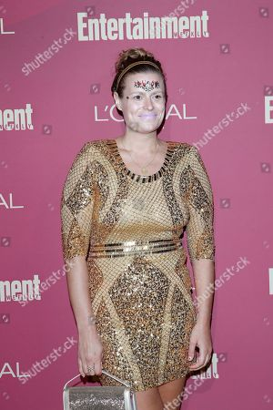 Stock Image of Marianna Palka arrives for the 2019 Pre-Emmy Party hosted by Entertainment Weekly and L'Oreal Paris at the Sunset Tower Hotel in West Hollywood, California, USA, late 20 September 2019.