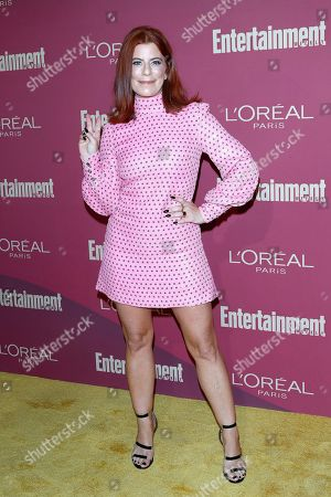 DJ Michelle Pesce arrives for the 2019 Pre-Emmy Party hosted by Entertainment Weekly and L'Oreal Paris at the Sunset Tower Hotel in West Hollywood, California, USA, late 20 September 2019.