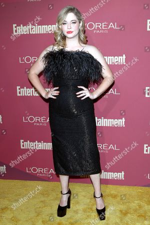 Stock Image of Sasha Pieterse arrives for the 2019 Pre-Emmy Party hosted by Entertainment Weekly and L'Oreal Paris at the Sunset Tower Hotel in West Hollywood, California, USA, late 20 September 2019.