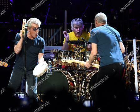 The Who - Roger Daltrey, Zak Starkey, Pete Townshend