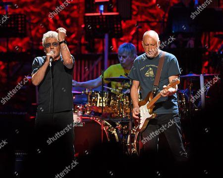 The Who - Roger Daltrey, Zak Starkey, Pete Townshend