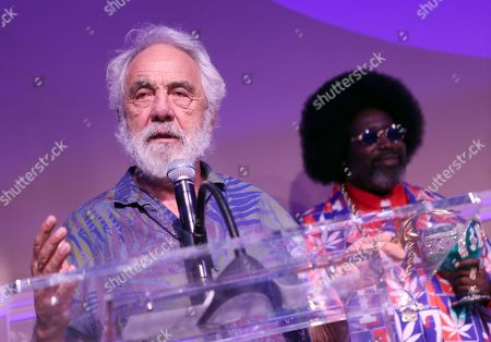 Stock Picture of Tommy Chong, Afroman