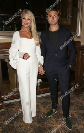 Stock Image of Christie Brinkley and Jack Brinkley Cook