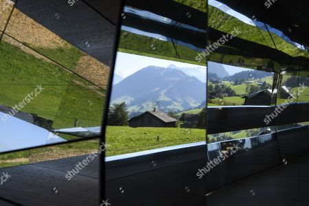 Editorial image of Elevation 1049: Frequencies Exhibition in Gstaad, Switzerland - 21 Sep 2019