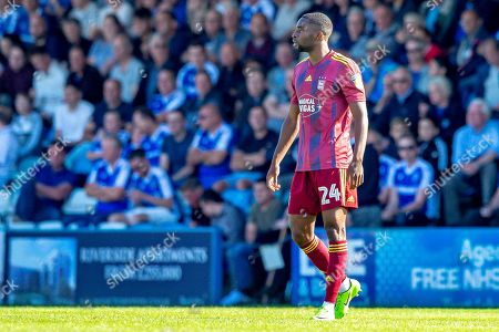 Ipswich Town defender Kane Vincent-Young (24)  after scoring a goal (0-1) during the EFL Sky Bet League 1 match between Gillingham and Ipswich Town at the MEMS Priestfield Stadium, Gillingham