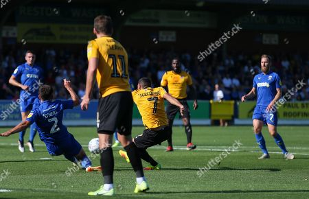 Editorial photo of AFC Wimbledon v Bristol Rovers, UK - 21 Sep 2019