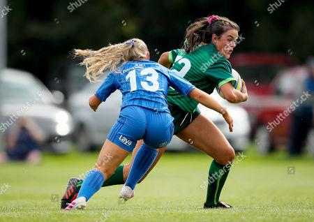 Editorial picture of Women's U18 Interprovincial Third Place Playoff, Barnhall RFC, Leixlip, Co. Kildare  - 21 Sep 2019