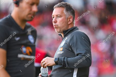 Darren Ferguson of Peterborough United (Manager) during the EFL Sky Bet League 1 match between Doncaster Rovers and Peterborough United at the Keepmoat Stadium, Doncaster