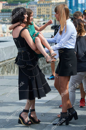 Stock Picture of Eva Green, Alice Winocour and Zelie Boulant