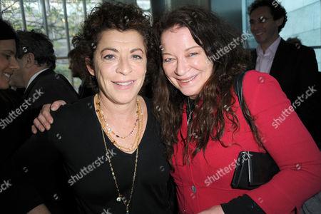 Suzanne Bertish and Claire Higgins