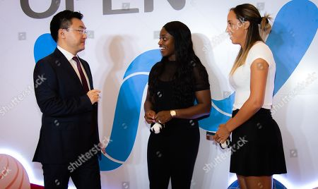 Editorial image of WTA Wuhan Open tennis tournament, Players Party, Wuhan, China - 21 Sep 2019