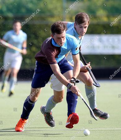 Editorial image of EY Men's Hockey League, Grange Road, Dublin  - 21 Sep 2019