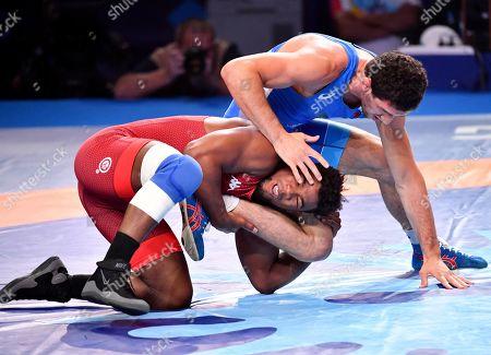 Editorial picture of World Wrestling Championships, Nur-Sultan, Kazakhstan - 21 Sep 2019