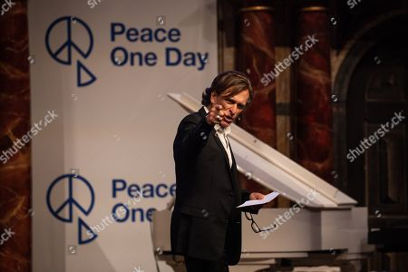 Peace One Day founder Jeremy Gilley