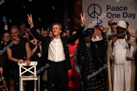 Editorial picture of Peace One Day 20th Anniversary Celebration, London, UK - 21 Sep 2019