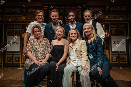 Peace One Day founder Jeremy Gilley, Jude Law, Andre Holland, Mark Rylance, Emily Watson, Juliet Rylance, Sinead Cusack, Joely Richardson