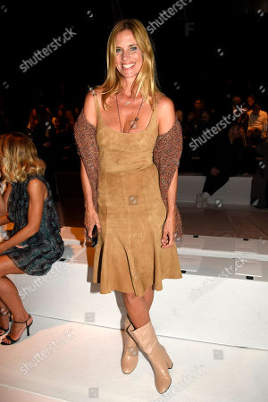 Filippa Lagerback in the front row